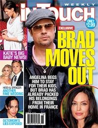 Brad and Angelina--I mean Steve and Eric--Split!